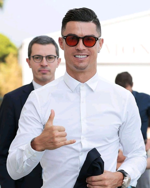 Juventus Star Cristiano Ronaldo Launches His New Hotel Line At Times Square In New York