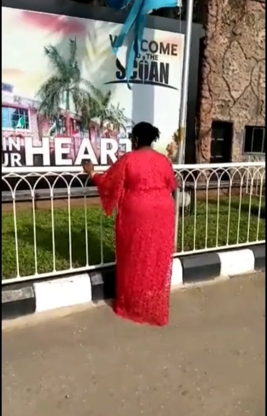 Video Of Rita Edochie Shedding Tears While Paying Her Last Tribute To Late Prophet TB Joshua