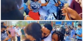 Video Of Singer Kcee Being Welcomed By His Wife And Children In Turkey