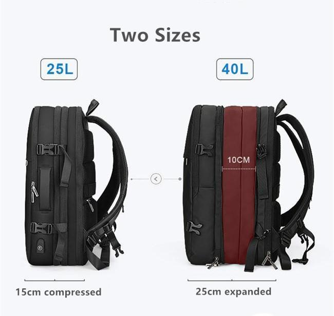 The EXP expanded...! This is what makes it the best digital nomad backpack