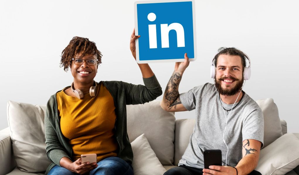 find business clients on Linkedin