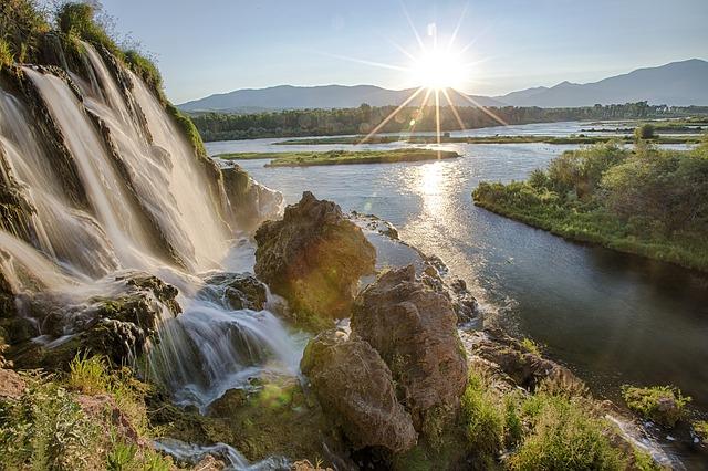 Visit Lava hot springs in Idaho
