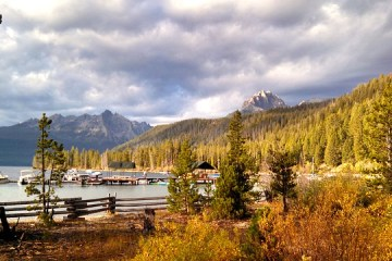 Redfish lake Idaho is one of the best places for nature lovers