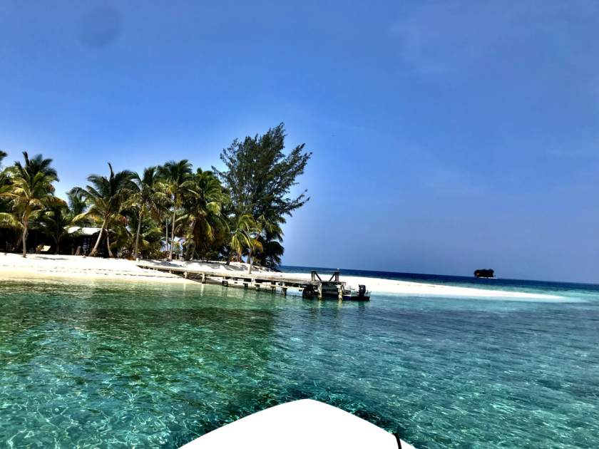 Sandy Cay in Honduras is a very affordable private island for hire