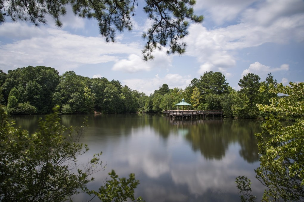 Atlanta GA botanical garden is a romantic place to spend a date