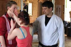 Vom Ringen über Karate zu exotischen Kampfkünsten. Mario Wolf ist mit unterschiedlichen Disziplinen vertraut.