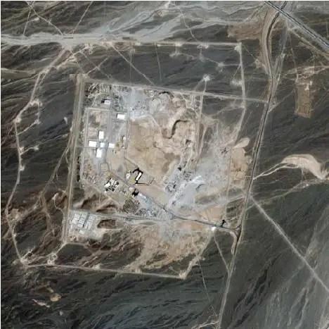 Natanz Uranium Processing Facility 2002