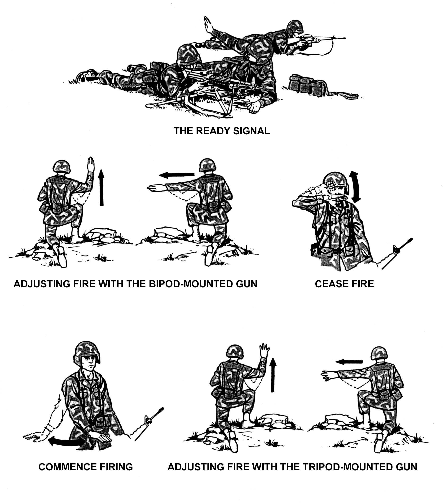 Special Ops Hand Signals