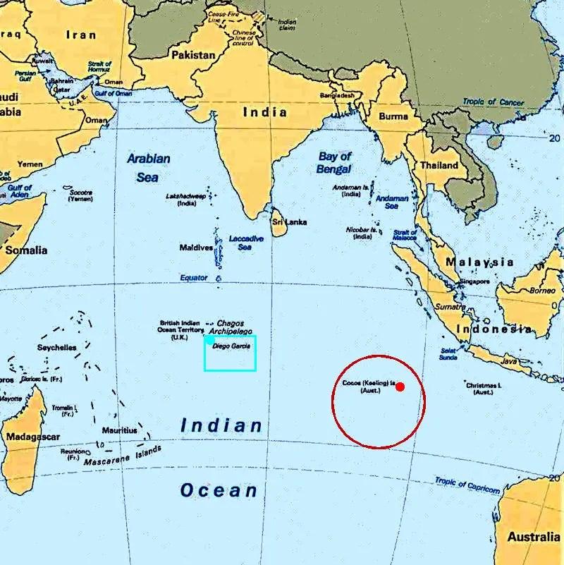 dieigo garcia indian ocean map