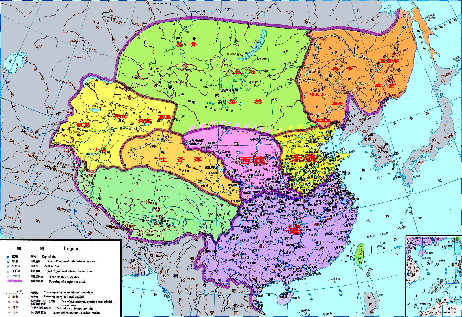 China History Maps