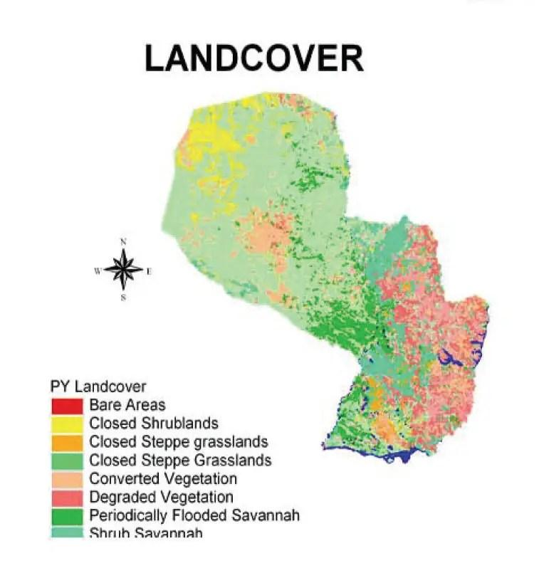 Paraguay Maps