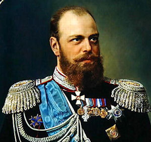 Image result for Tsar Alexander III