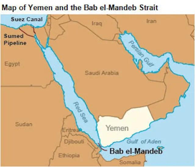 Risultati immagini per Bab el Mandeb