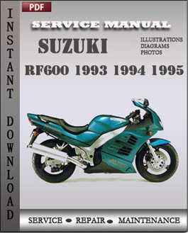 suzuki rf600 1993 1995 free download pdf repair service manual pdf