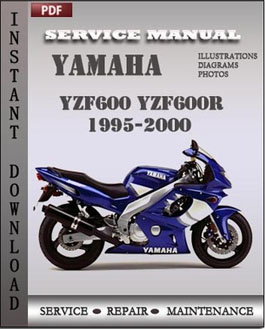 yamaha yzf600 yzf600r 1995 2000 factory manual download. Black Bedroom Furniture Sets. Home Design Ideas