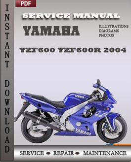 Yamaha YZF600 YZF600R 2004 manual