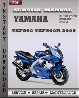Yamaha YZF600 YZF600R 2005 manual
