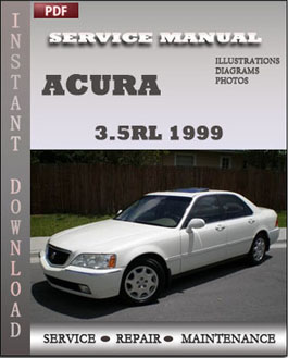 Acura 3.5RL 1999 manual