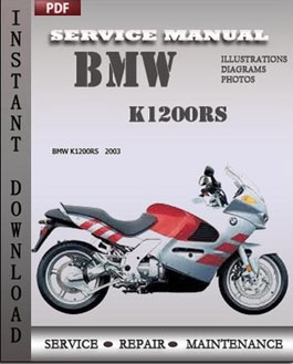 BMW K1200RS manual