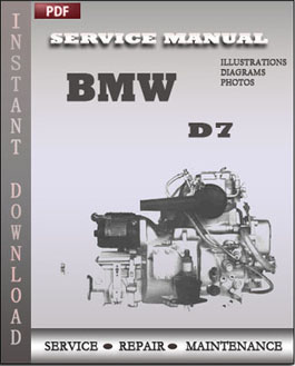 BMW Marine D7 manual
