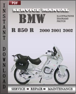 BMW R 1100 GS R RS RT 2000 2001 2002 manual