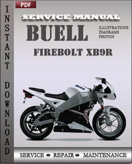 Buell Firebolt XB9R manual