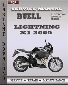 Buell LIghtning X1 2000 manual
