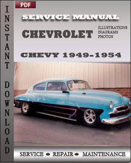 Chevrolet Chevy 1949-1954 manual