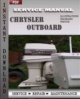 Chrysler Outboard 20 25 Hp 1969-1976 manual
