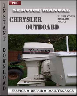 Chrysler Outboard 70 75 80 90 105 115 120 130 135 150 Hp manual