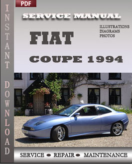 Fiat Coupe 1994 manual