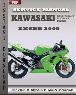 Kawasaki ZX6RR 2005 manual