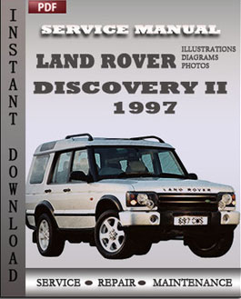 Land Rover Discovery 2 1997 manual