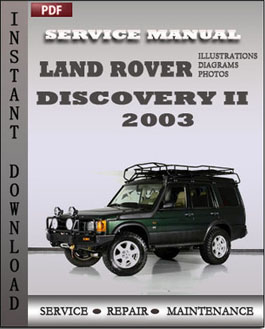 Land Rover Discovery 2 2003 manual