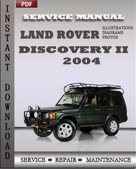 Land Rover Discovery 2 2004 manual