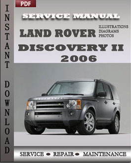 Land Rover Discovery 2 2006 manual
