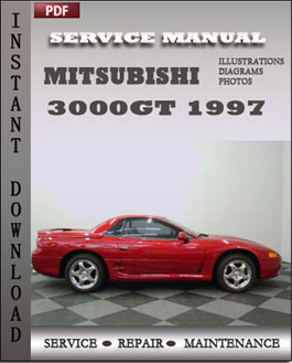 Mitsubishi 3000GT 1997 manual