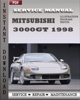 3000gt factory service manual pdf download