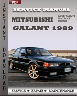 Mitsubishi Galant 1989 manual