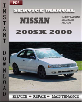 Nissan 200SX 2000 manual