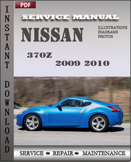 Nissan 370Z 2009 2010 Coupe manual