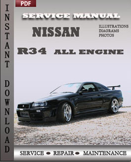 Nissan R34 All manual