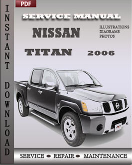 Nissan Titan 2006 manual
