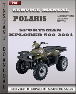 Polaris Sportsman Xplorer 500 2001 manual