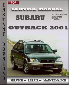 Subaru Outback 2001 manual