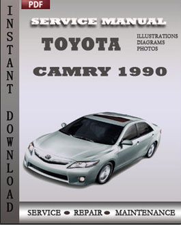 Toyota Camry 1990 manual