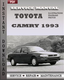 Toyota Camry 1993 manual