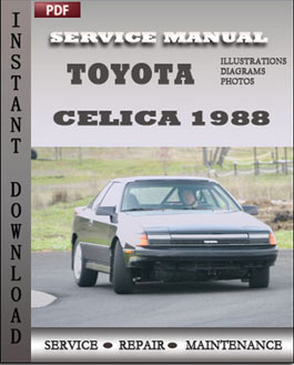 Toyota Celica 1988 manual