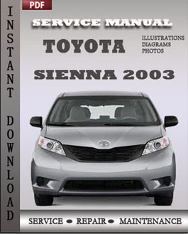 Toyota Sienna 2003 manual
