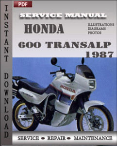 Honda 600 Transalp 1987 global